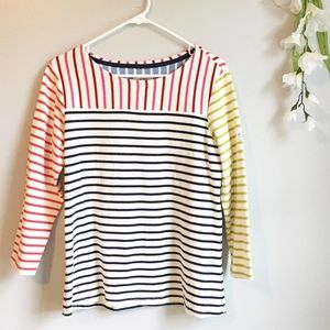 Joules Clothing Colorful Stripe Long Sleeve Tunic